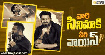 Star Heroes who gave voice to other heroes films
