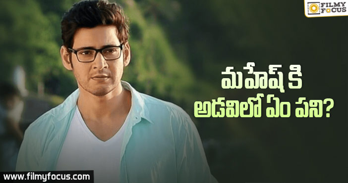 Superstar Mahesh Babu In South Africa Forest
