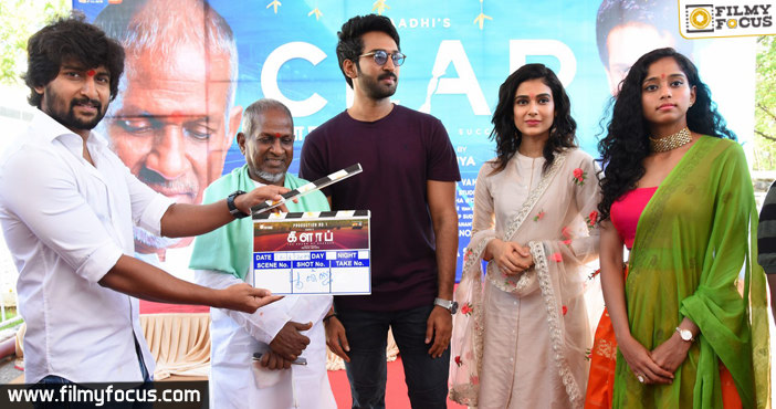 aadhi-pinishettys-clap-movie-launched
