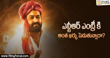 Huge Budget For Jr NTR's Intro In RRR Movie