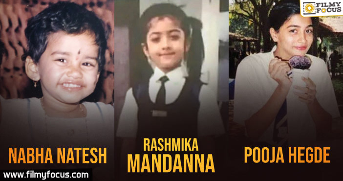 30 South Indian Actresses Childhood Pics