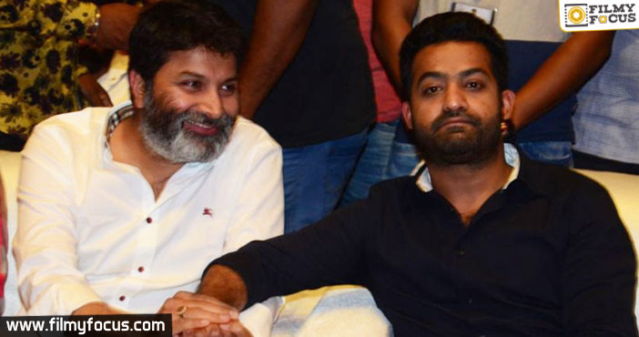 Once Again NTR With Trivikram1