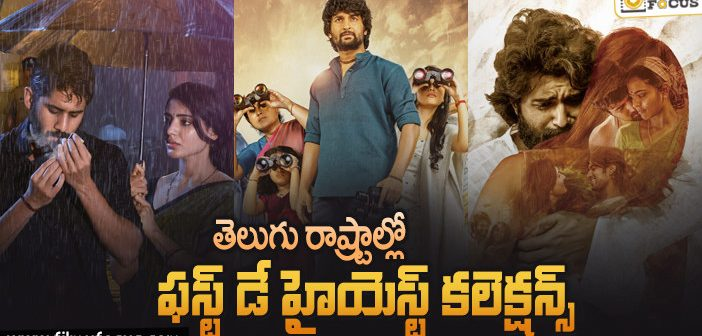 16 Young Hero Movies Which Collected Huge MCollections On First Day In Telugu States