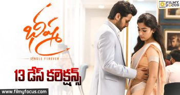 Bheeshma Movie 13 Days Box Office Collections