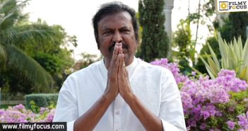 MohanBabu says a small story about lockdown