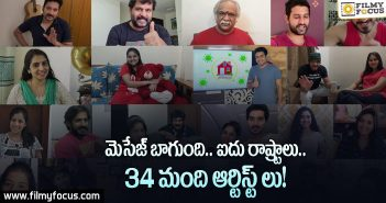 34 south Indian actors & actresses in 5 different states short film