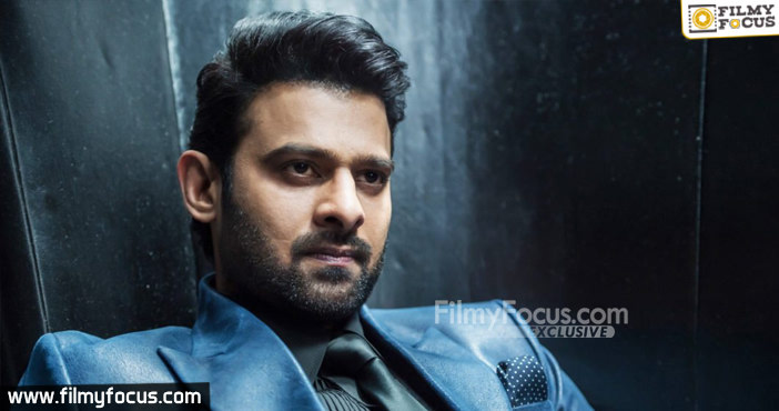 Crazy and Trendy Title For Prabhas New Movie1
