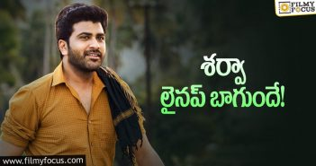 Sharwanand getting ready for back to back hits