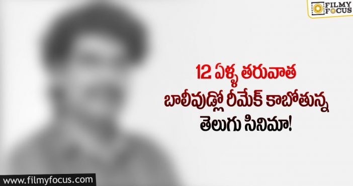 After 12 years telugu movie remaking in hindi