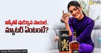 Payal Rajput Poses With Whisky Bottle
