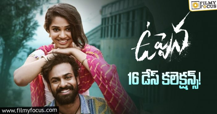 Uppena Movie 16 Days Total Worldwide Collections