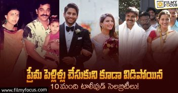 Tollywood celebrities who parted their ways with divorce